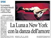 La Luna a New York con la danza dell'amore